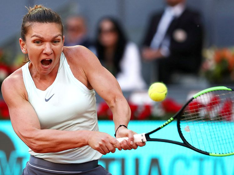 Simona Halep shrugs off expectations ahead of French Open ...