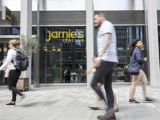 Jamie Oliver's Dubai restaurant to remain open as UK chain collapses