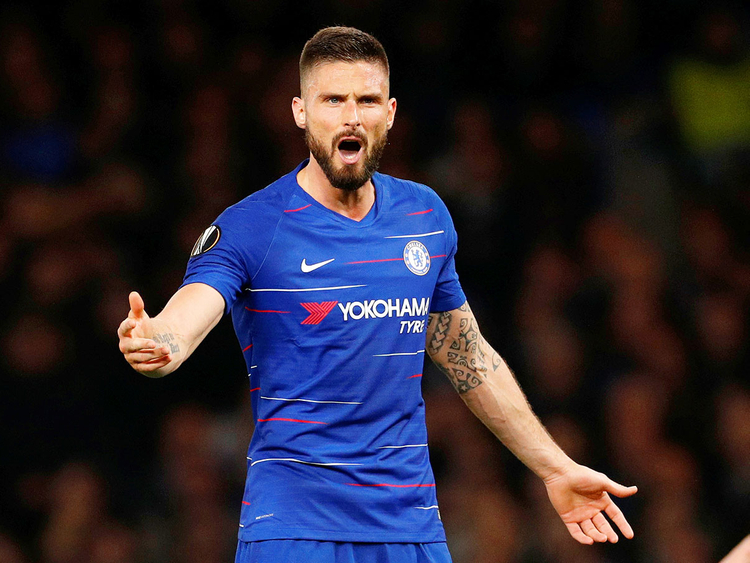 the latest cb3fa b8693 No sentiment as Giroud and Chelsea face Arsenal in Europa ...
