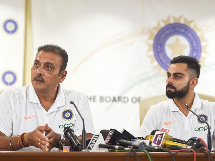 Coach Ravi Shastri