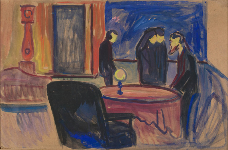Edvard Munch's set design for Ibsen's Ghosts-1558426050387