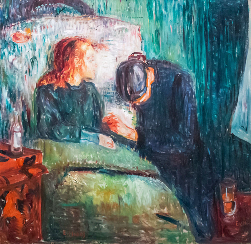 The Sick Child, 1907, by Edvard Munch-1558426047775