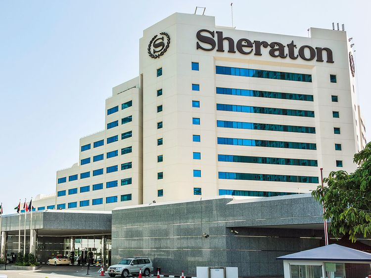 A Sheraton hotel in Dubai