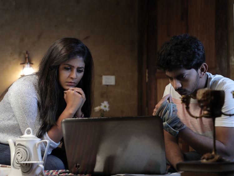 Anjali with Sam Jones in 'Lisaa'-1558507401245
