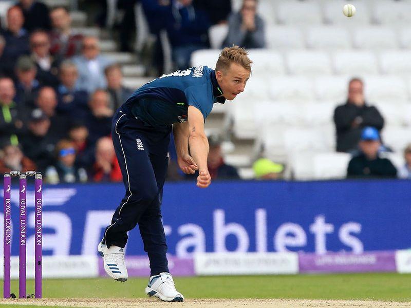 England's Tom Curran