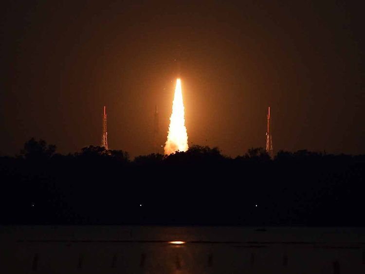 ISRO satellite launch 20190522