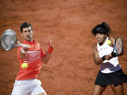 No. 1 priorities for Djokovic and Osaka at French Open