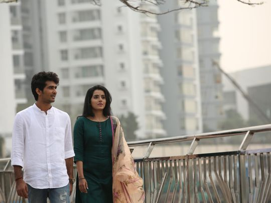 Shane Nigam with Ann Sheethal in Ishq-1558507089633