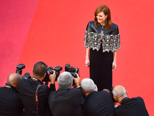 Julianne Moore says AIDS documentary is personal
