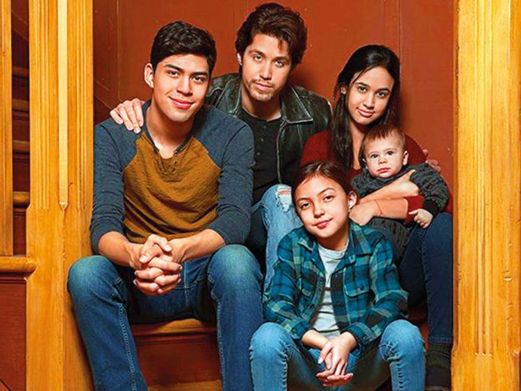 190523 Cast of the rebooted 'Party of Five'.