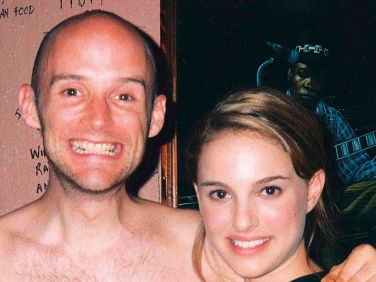 190523 Moby with Natalie Portan in 1999.