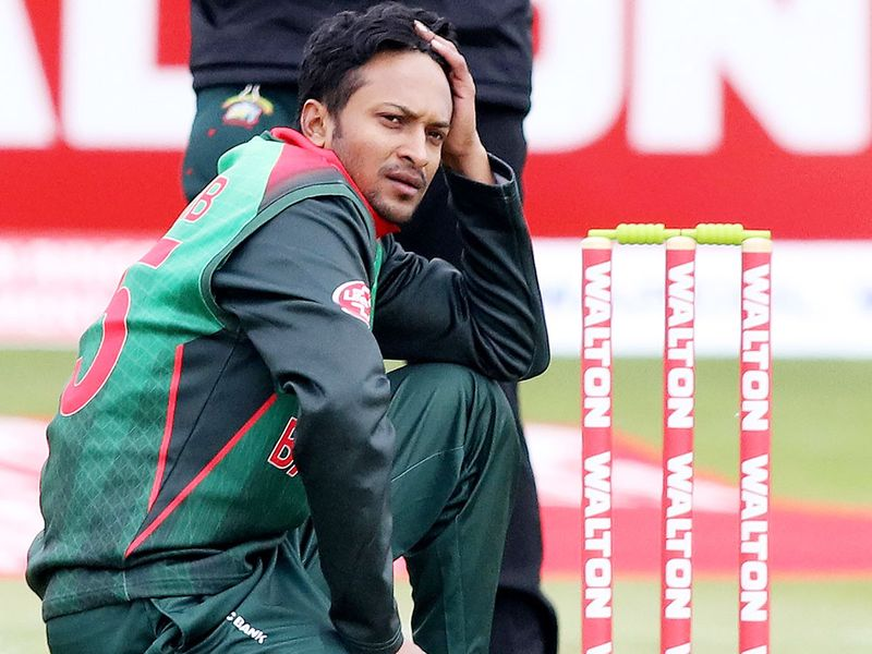 Shakib Al Hasan banned for 4 games of DPL following his on-field meltdown