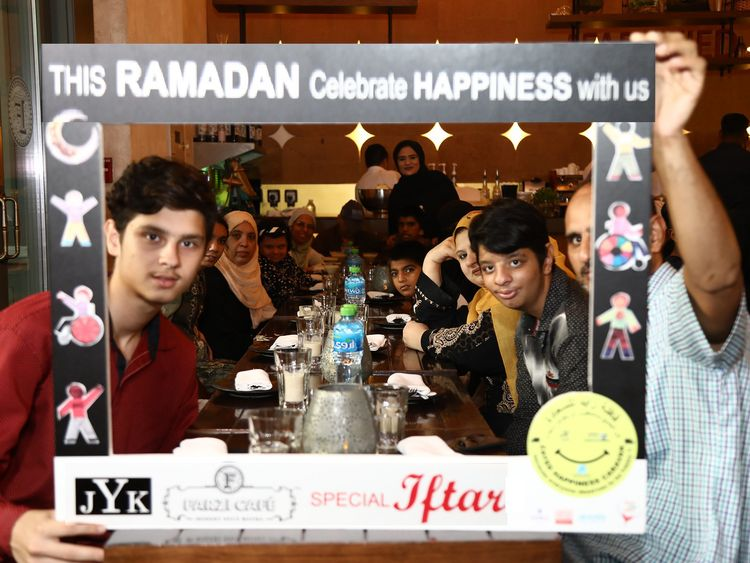 JYK & Farzi Cafe hosted Special Iftar For Special Needs Children & their families -1-1558628606549