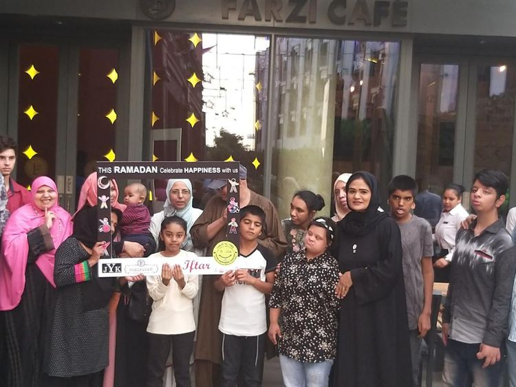 JYK & Farzi Cafe hosted Special Iftar For Special Needs Children & their families -3-1558628611165