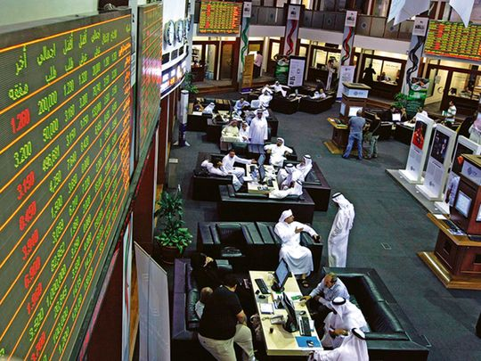 dubai stocks dfm dubai financial market