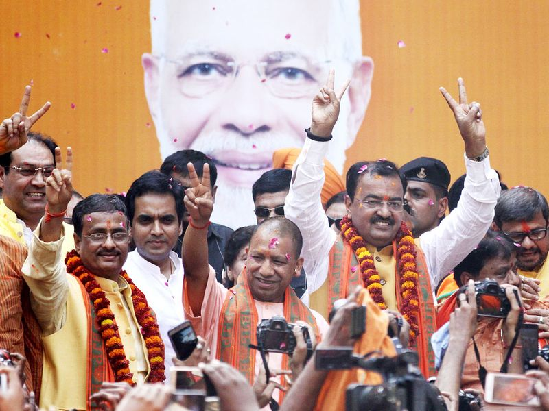 Chief Minister of Uttar Pardesh Yogi Aditya Nath