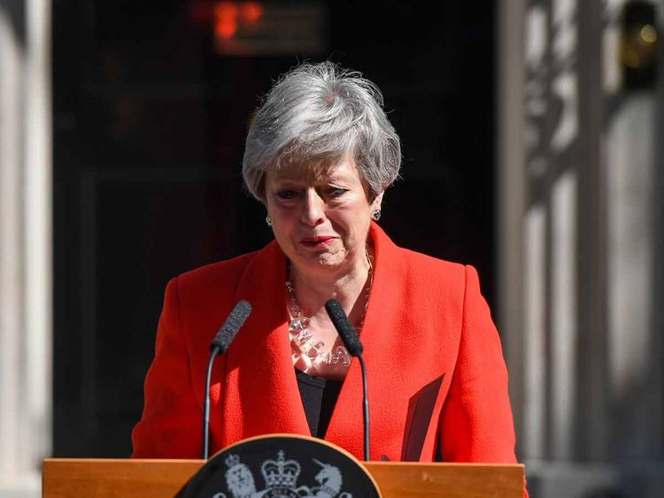 Prime Minister Theresa May 20190525