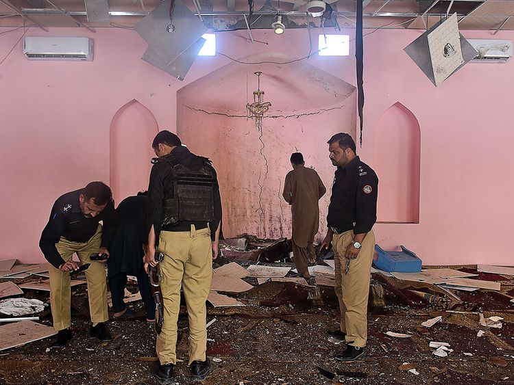 Pakistan mosque attack