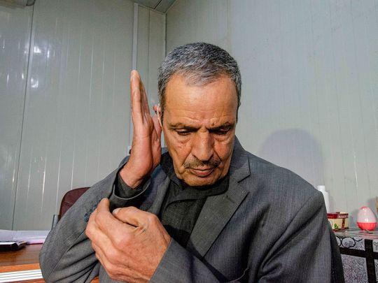 Mosul deaf patient