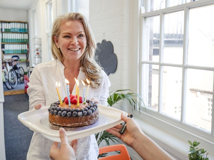 OPN Birthday celebration of a white British woman-1558872086467