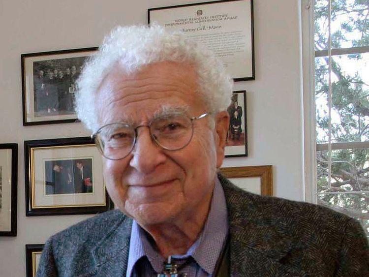 Murray Gell-Mann, winner of the 1969 Nobel Prize for physics
