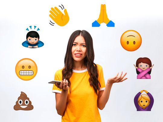 Confusing emojis