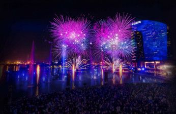 Dubai Festival City - Fireworks and IMAGINE-1558961702979