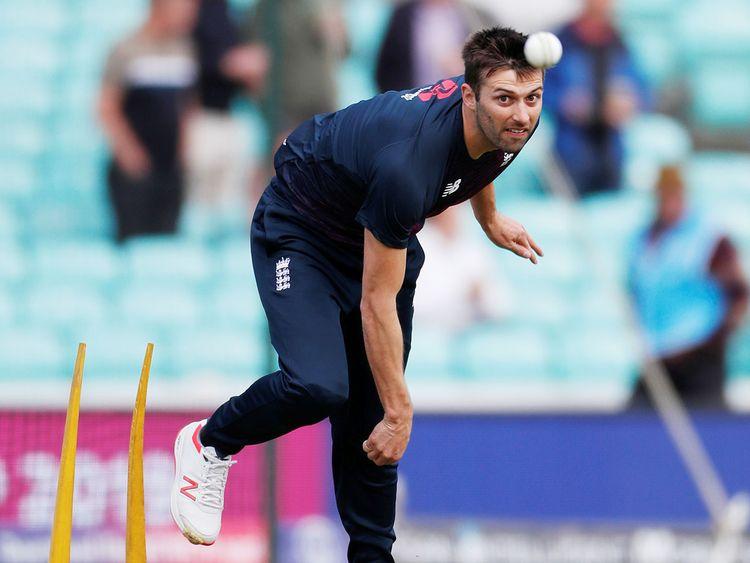 England's Mark Wood