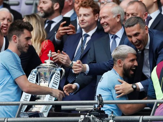 Khaldoon Aguero FA CUP