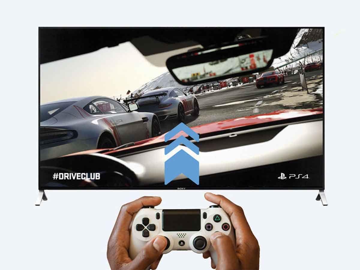 Sony TV gaming