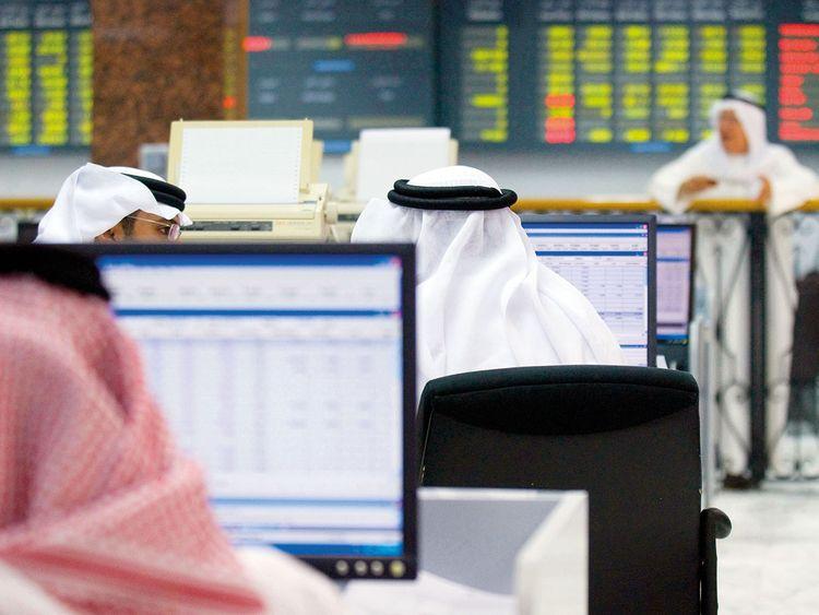 The Bahrain Stock Exchange in Manama