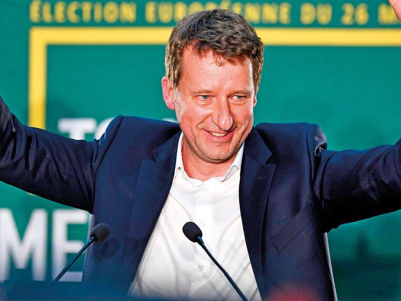 Yannick Jadot of Europe Ecologie Les Verts