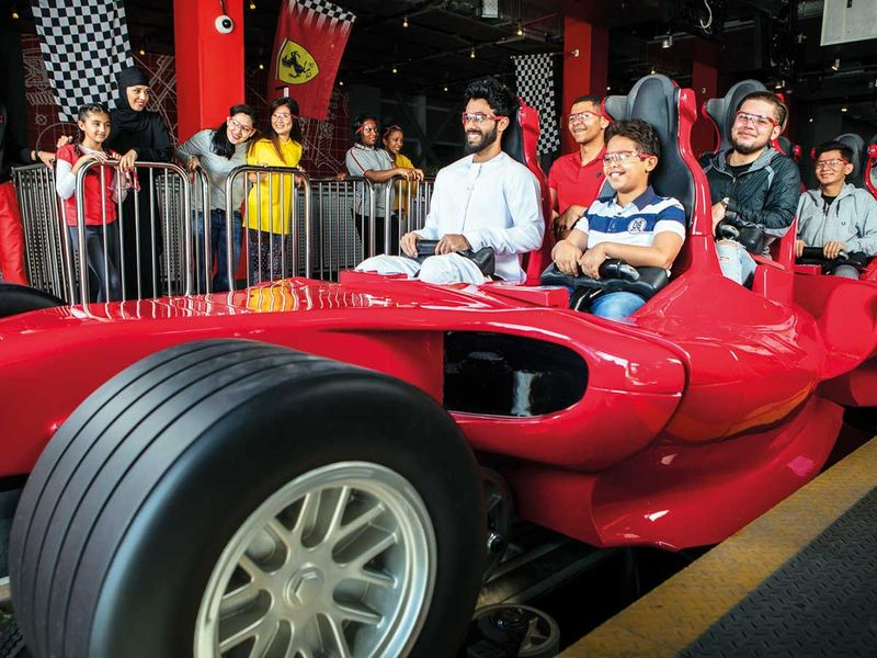 190528 Ferrari World Abu Dhabi