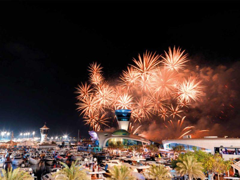 190528 Yas Island Fireworks