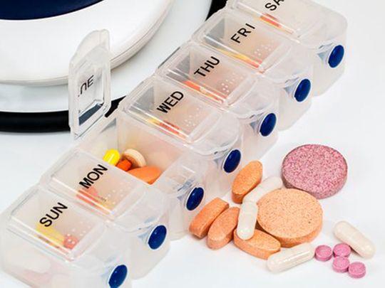 Blood pressure tablets