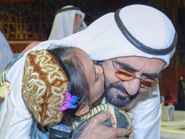 Shaikh Mohammad with Mahina 20190528