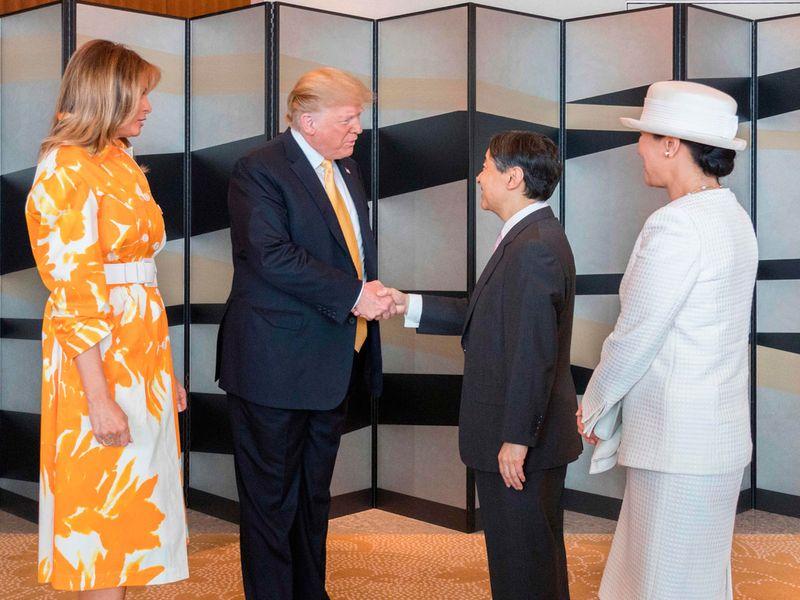 Trump Japan visit May 2019