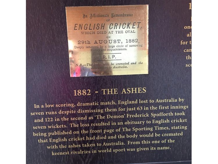 From the walls of the Oval ground