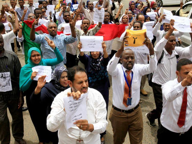 Sudan strike-1559129437329