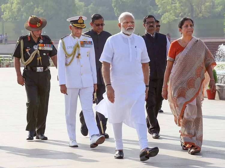 Modi and Nirmala 20190530