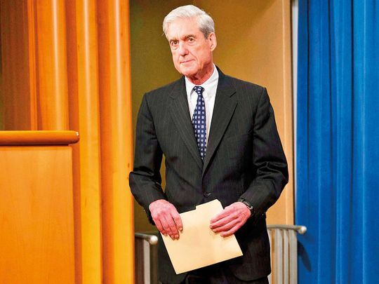Robert Mueller, the special counsel