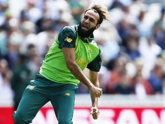South Africa's Imran Tahir
