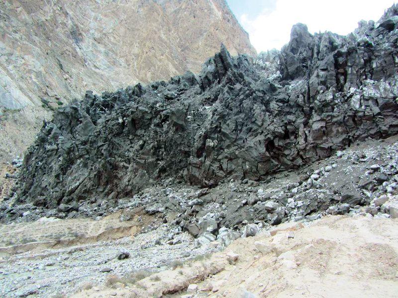 The Shishper Glacier
