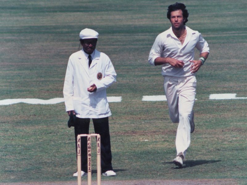 Imran Khan cricket