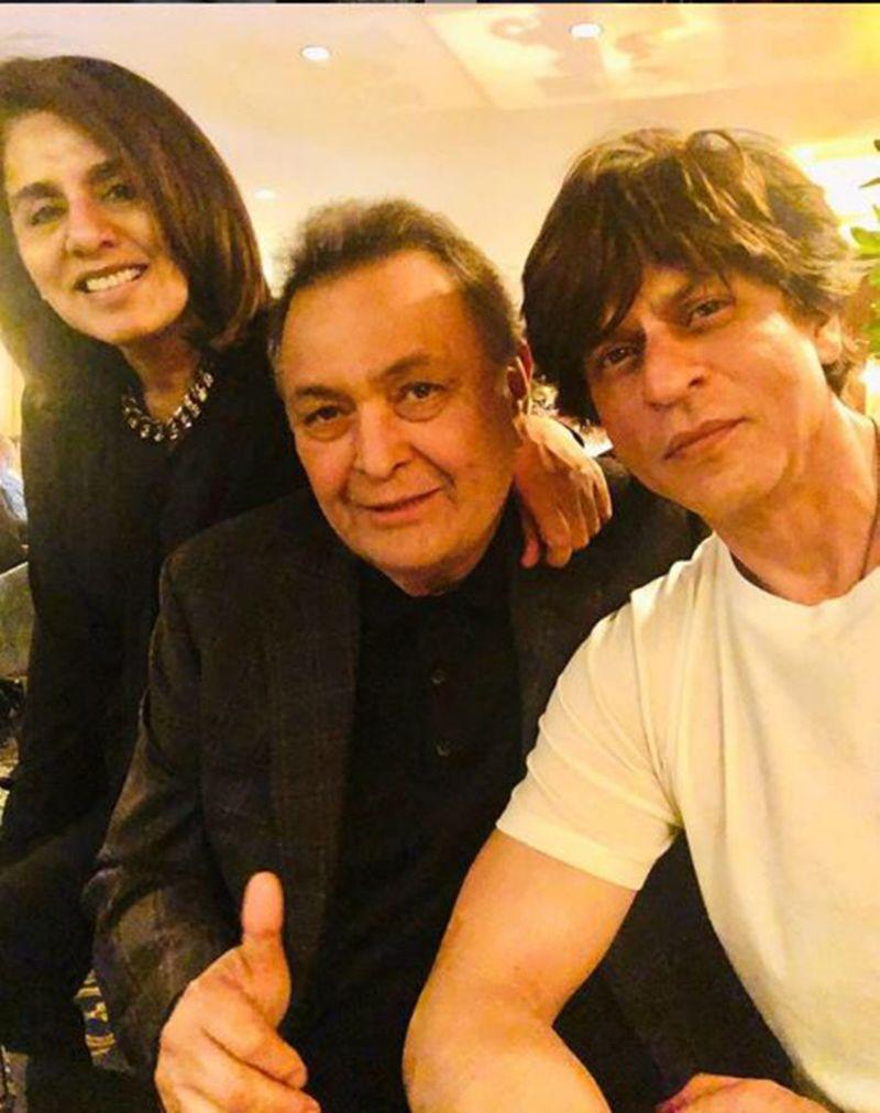 Rishi with Shah Rukh-1559289859617