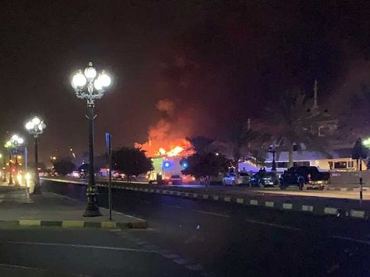 Sharjah fire 201931