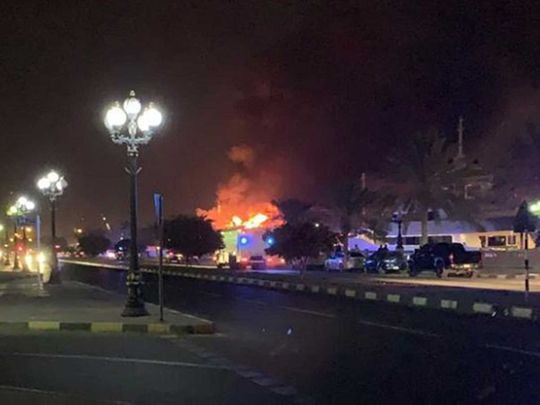 Sharjah fire 201931