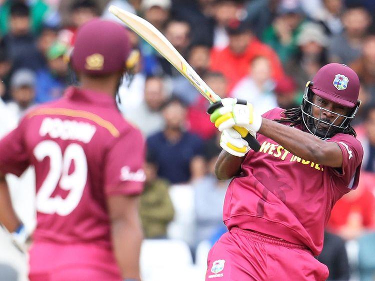 West Indies' Chris Gayle