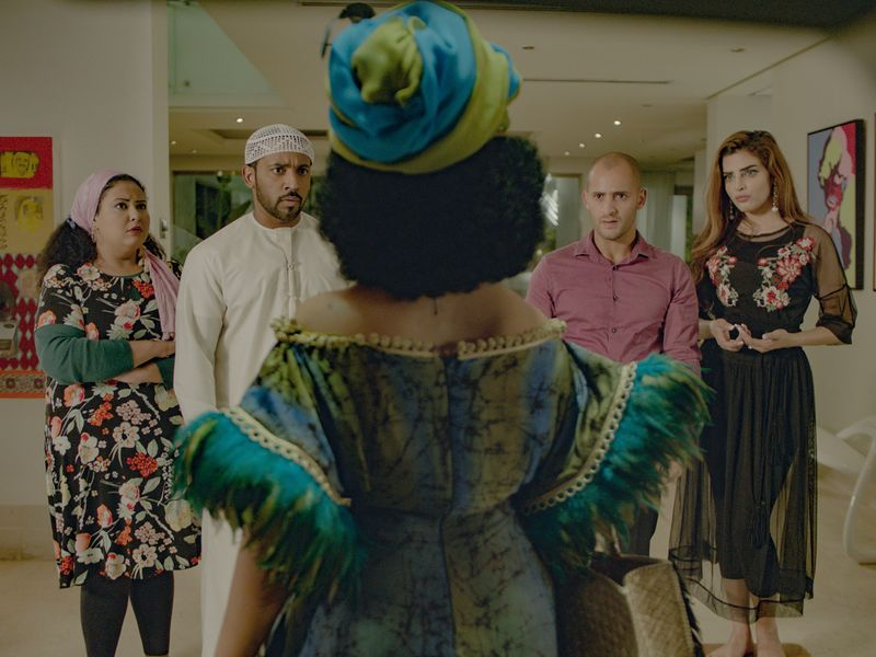 A still from 'Rashid & Rajab' by Emirati director Mohammad Saeed Harib.