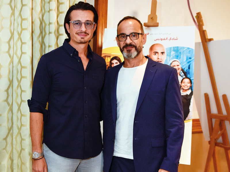 Ali Mustafa and Rami Yasin, producers of 'Rashid & Rajab'.